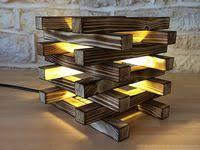<b>Modern wood lamps</b>
