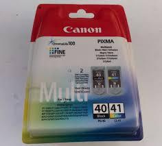 Обзор на Набор <b>картриджей Canon PG</b>-<b>40</b> + CL-41 <b>MULTI PACK</b>