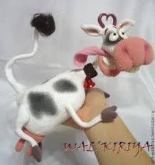 DIY - <b>cow</b> 2 | Мягкие игрушки, Связанные <b>крючком</b> игрушки и ...