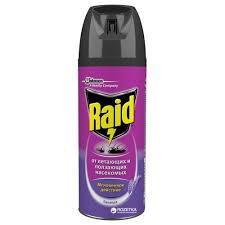 <b>Аэрозоль</b> против летающих и ползающих <b>насекомых Raid</b> ...