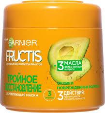 """Garnier Fructis <b>Маска для волос</b> """"Фруктис, Тройное ..."""