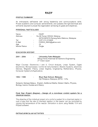 resume fresh graduate nursing happytom co new graduate resume for fresh graduate resume samples for fresh graduates sample resume