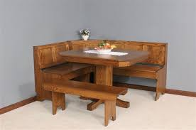 amish mission breakfast nook set breakfast set furniture