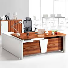 wooden frame office desk computer standing desk modern executive desk office table cheap office workstations