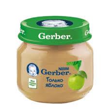 <b>Пюре Gerber</b> Яблоко с 4 месяцев | Отзывы покупателей