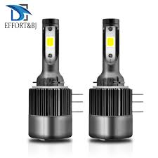 Effort&BJ Auto Headlamp <b>COB</b> Light Bulb for Audi BMW Mercedes ...