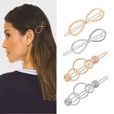 <b>Simple Hollow</b> Hair Clip Geometric Hairpin Women Accessories ...