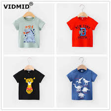 VIDMID <b>2 6Y boys</b> Clothing Summer <b>Children</b> Infant <b>Kid Boys</b> shirts ...