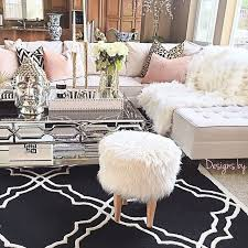 beautiful living room decoration with a chic rustic furniture with elegant printed rug and other accessories its a modern and traditional interior living accessoriesglamorous bedroom interior design ideas