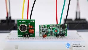 Insight Into How <b>433MHz RF</b> Tx-Rx Modules Work & Interface with ...