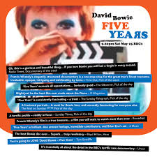 francis whately on five years film david bowie latest news francis whately on five years film