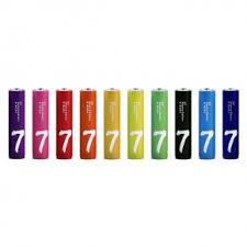 <b>Батарейки Xiaomi</b> Rainbow ZI7 Alkaline Battery <b>AAA</b> — купить по ...