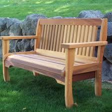 cedar bench plans cedar bench plans