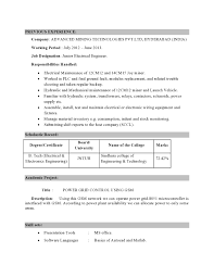 cv electrical engineer qatar living