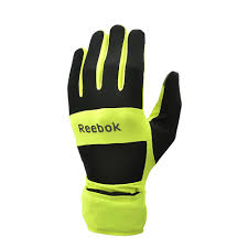 <b>Всепогодные перчатки для</b> бега Reebok - Спорт-Империя
