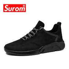 SUROM Men Sneakers Casual Shoes <b>2018</b> Spring <b>Autumn New</b> ...