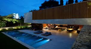 landscape lighting around inground pool awesome modern landscape lighting design