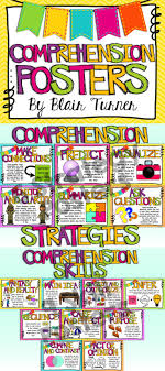 best ideas about reading comprehension posters reading comprehension posters cute posters student friendly explanations and visual cues on chevron