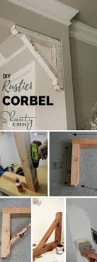 quotthe rustic furniture brings country. check out the tutorial diy rustic corbel quotthe furniture brings country a