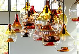 beautiful amber glass pendant lights amber pendant lighting