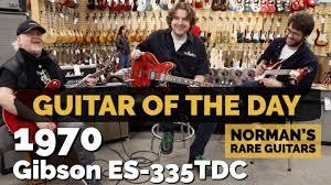 <b>Guitar</b> of the <b>Day</b>: 1970 <b>Gibson</b> ES-335TDC | Valentines <b>Day</b> at ...