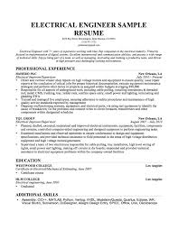 Resume Format For Civil Engineers