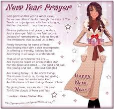 ~ New Year Prayer ~ Helen Steiner Rice ~ @ you and me, mads ...