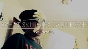 what skills do you have what skills do you have