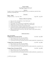 examples of resumes best photos basic resume templates for any other best photos of basic resume templates for any job sample basic throughout simple job resume template
