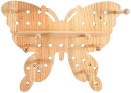 Wood Wall Shelf, Wooden Butterflies Shape Wall ... - Amazon.com