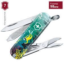 Нож VICTORINOX <b>DEEP DIVE</b> 0.6223.L2006. Купить <b>нож</b>-<b>брелок</b> ...