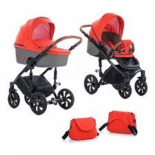 Детская коляска TUTIS <b>VIVA</b> LIFE 2 в 1, пластиковая люлька ...