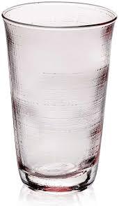"Набор стаканов для воды IVV ""<b>Деним</b>"" <b>380мл</b> (розовый), 6шт (IVV ..."