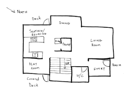 Draw Floor PlansMain Floor House Bubble Diagram Draw Floor Plan