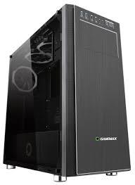 Компьютерный <b>корпус GameMax Vanguard</b> VR Black — купить по ...