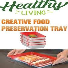 <b>Clever Tray Creative</b> Kitchen Items Food Storage Container Set ...