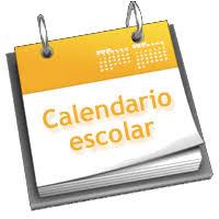 Resultado de imagen de calendario escola