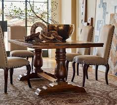chair dining room tables rustic chairs:  bowry reclaimed wood fixed dining table o