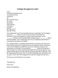acceptance letter informatin for letter acceptance letter templates 8 templates in pdf word excel
