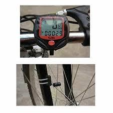 Sporting Goods <b>LCD Waterproof Digital</b> Bike Cycling Computer ...