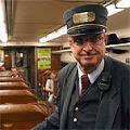 El millonario que trabaja en un tren