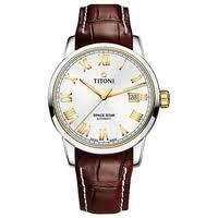 Наручные <b>часы Titoni 23538</b>-<b>S</b>-<b>ST</b>-<b>580</b> — купить по выгодной ...