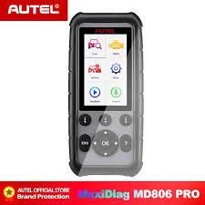 <b>Autel Maxidiag MD806</b> 4 System OBD2 Auto Scanner Diagnostic ...