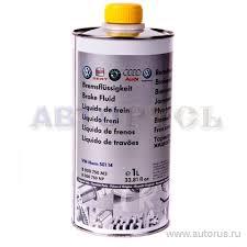 <b>VAG</b> B000750M3 <b>Жидкость тормозная</b> DOT-4 1л