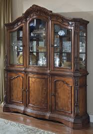 Dining Room China Cabinets Buffet Wood Corner Ashley Furniture Ledelle Dining Room Buffet