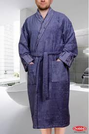 """Махровый халат мужской """"ELIZA"""", размер XXL, серый, 40 ..."""