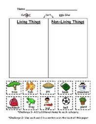 1000+ images about grade 1 science: Living and non Living Things ...Living and Non-Living Things...but I could use this idea for