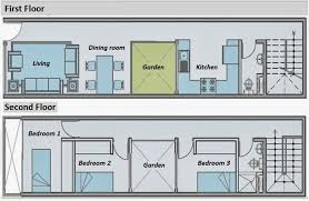 Two story house plans for a small long narrow land of   m    Two story house plans for a small long narrow land of   m   Home Plans   Pinterest   Two Story Houses  House plans and A Small
