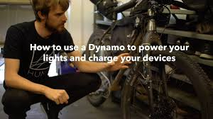 How to use a Dynamo hub to power your lights and charge your ...