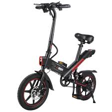 <b>Dohiker</b> Y1 <b>Electric Folding Bike</b> - Black on OnBuy